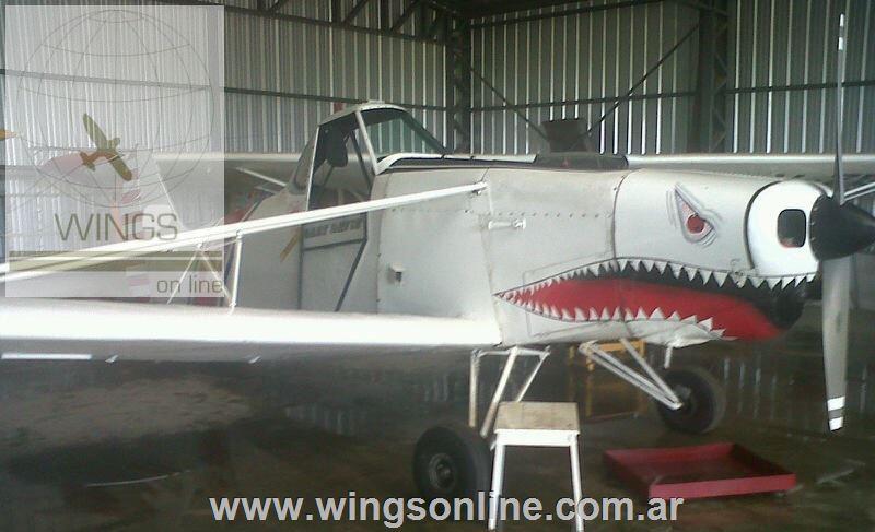 Piper Pawnee PA-25-150 – Remolcador+