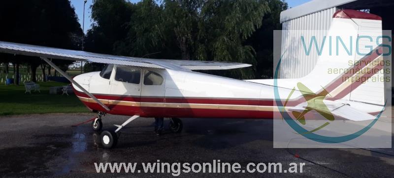 Cessna 182 Categoría normal, restringido para paracaidismo y Aeroaplicación